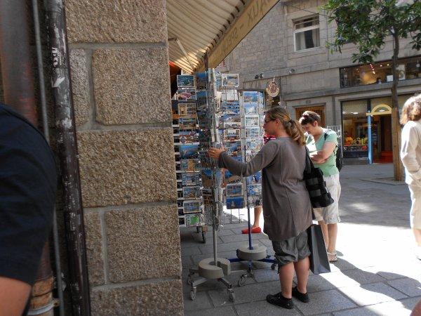 Suite 3 - Vacances  à  Cancale  2012 - VISITE  DE  ST  MALO-INTRA MUROS