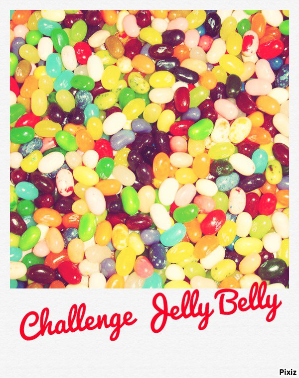 #1 Challenge { Donnons des notes aux Jelly Belly } !