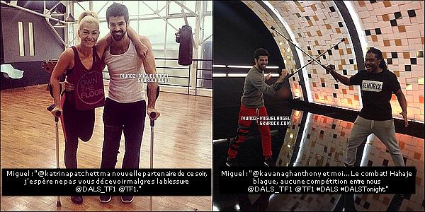 Apparition de nouvelles photos Personnelles de Miguel postant sur Twitter & Instagram.