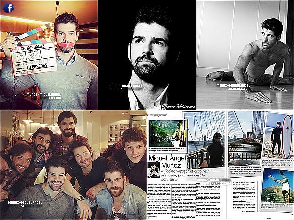 """(Re)Découvrez un photoshoot de notre beau espagnol Miguel Angel pour """"DeMoDa""""."""