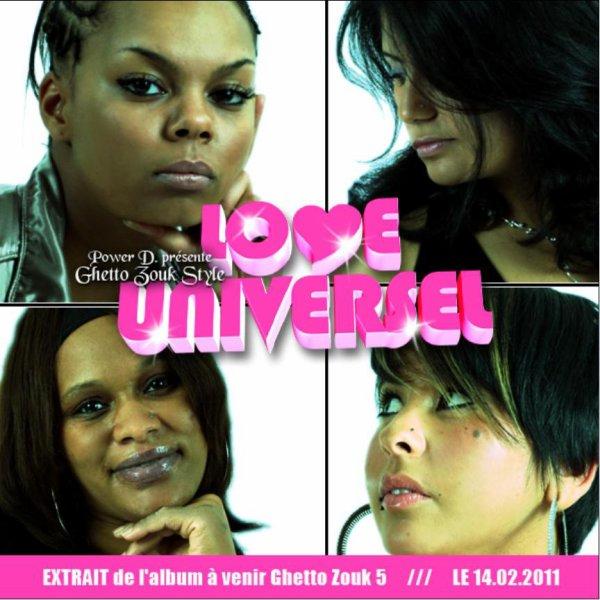"""Sortie du nouveau single GHETTO ZOUK STYLE """"Love universel"""""""