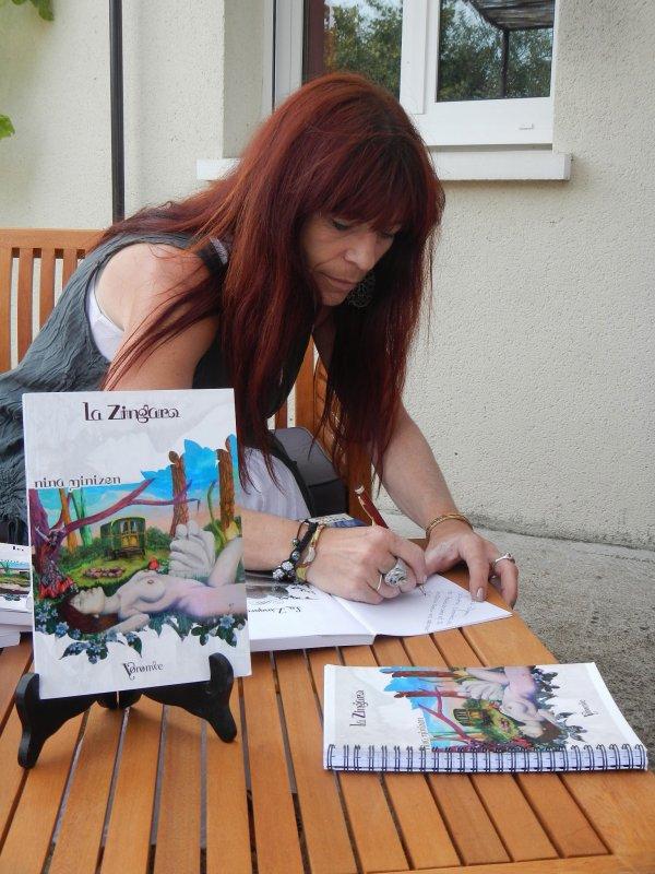@ Dédicace de la Zingaro aux Jardins d'Artistes@