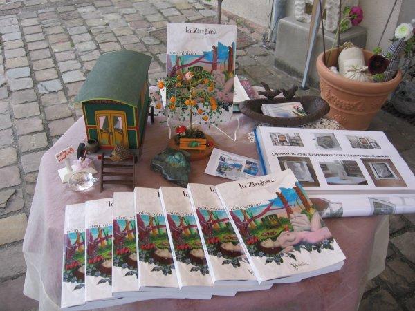 @Dédicace de La Zingaro à Veigné (37)@