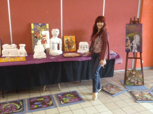 @LA ZINGARO DE NINA MINIZEN A NOUVEAU EN DEDICACE ET EXPOSITION@