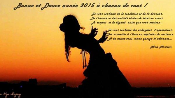 @BONNE ET DOUCE ANNE 2015 A CHACUN DE VOUS ! @