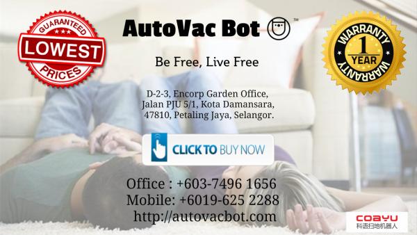 Best Coayu Robot Vacuum Straits Quay Marina Mall