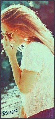 J'ai peur de toi. Enfin, de moi sans toi. Tu vois ?  ♥