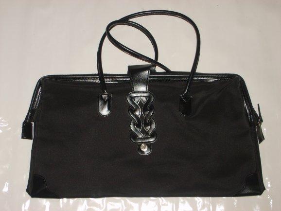 Blog Sac à Main Mode : Sac a main noir classe rigide de les affaires mode