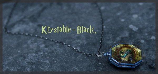 • Krystahle Black •