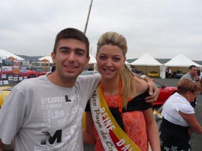 Avec la reine d'albi