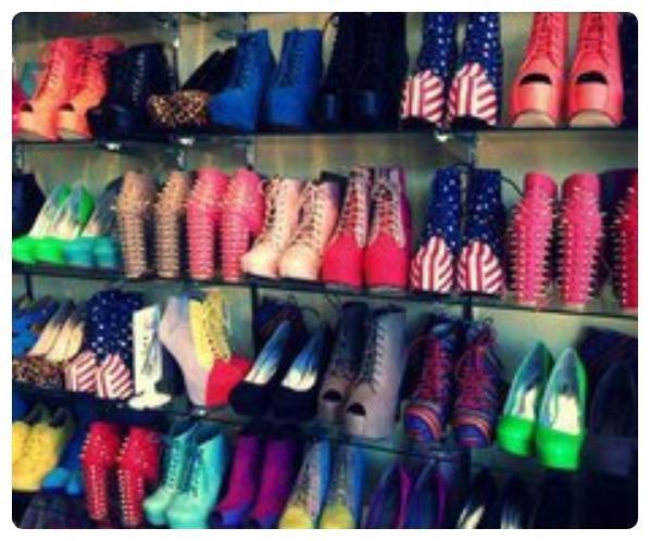 Toute les chaussure à talon