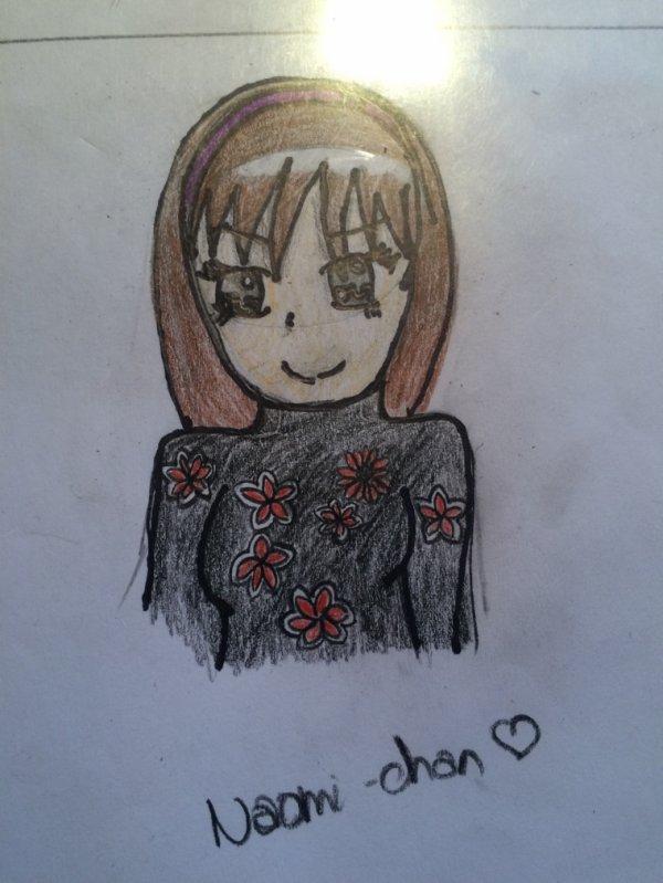 Je l'ai appelée Naomiiii ;)))
