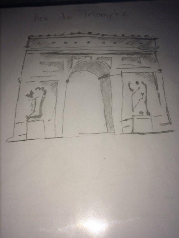 L'arc de triomphe:)))))