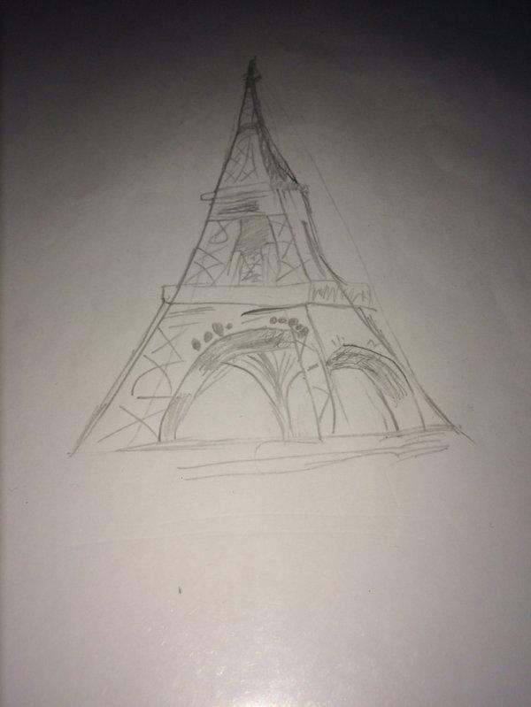 La tour de Pisa... Nan j'déconne, la tour Eiffel