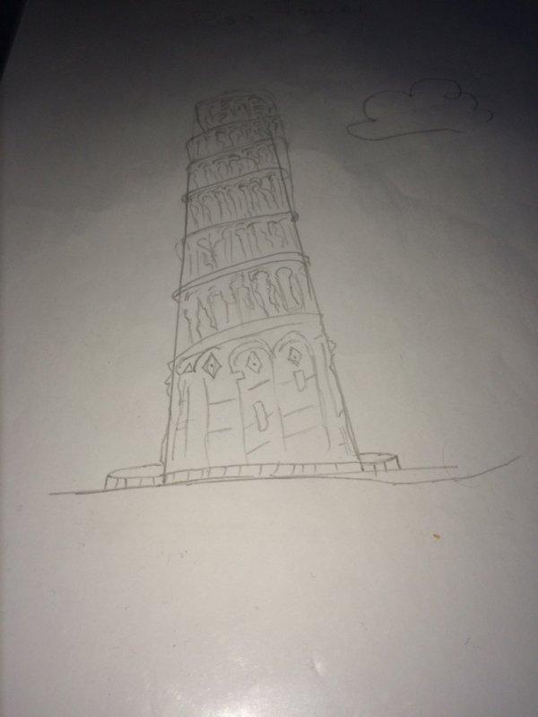 La tour de Pisa... Sérieusement là