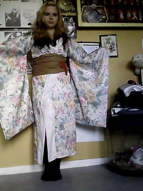 Kimono traditionnelle japonnais fais mains