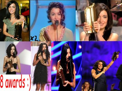 Jenifer au nrj music award