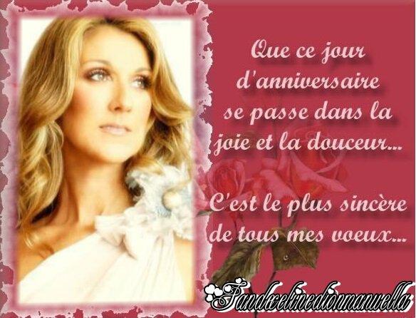 JOYEUX ANNIVERSAIRE MA BELLE Céline (l)