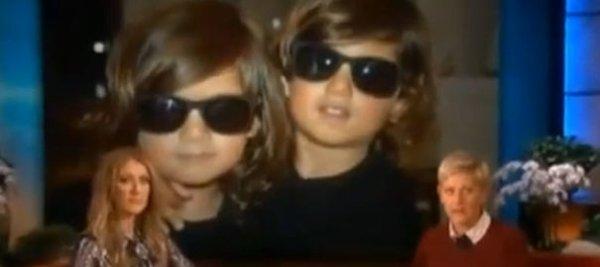 Les jumeaux de Céline Dion contraints de se couper les cheveux !!!