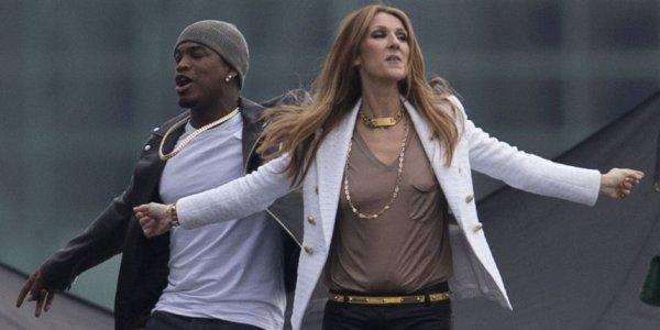 PHOTOS - People : Ne-Yo et Céline Dion sur les toits de Los Angeles ♥