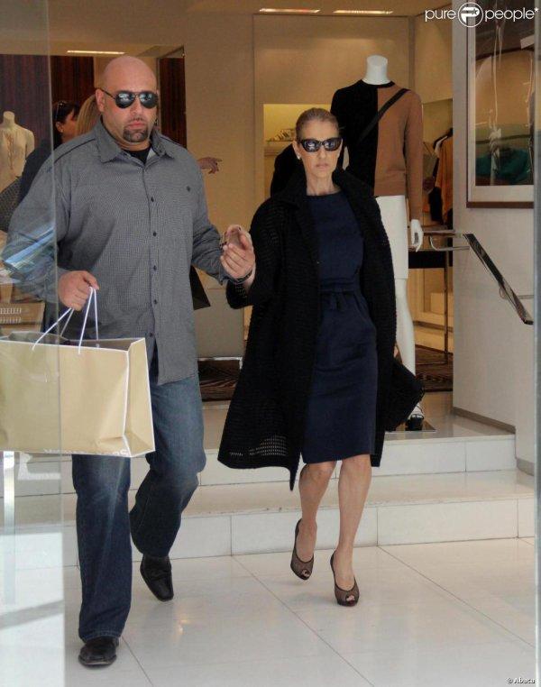 Céline Dion : Séance shopping avant la reprise à Las Vegas!