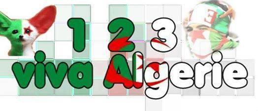1 2 3 vive Algerie <3 Viva Brasil <3