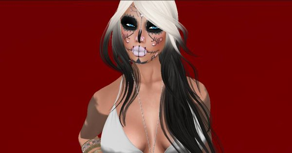 #secondlife #photos #skull #intense