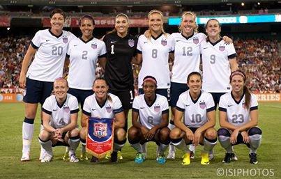 équipe de football féminine des usa