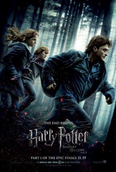 Sortie dvd Harry potter et les Reliques de la Mort Partie 1