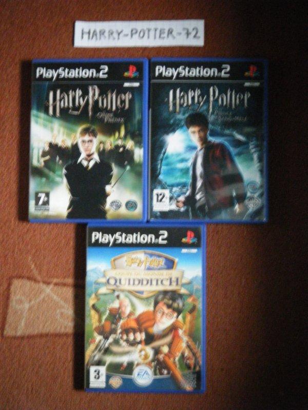 Les jeux vidéos Harry Potter