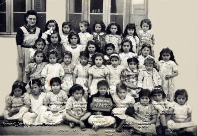 Photo de classe Nedroma 1949