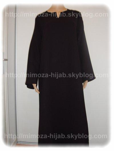 Abaya simple Classique