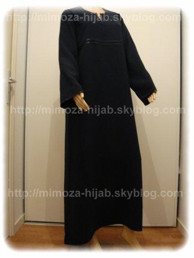 Abaya simple Classique 2