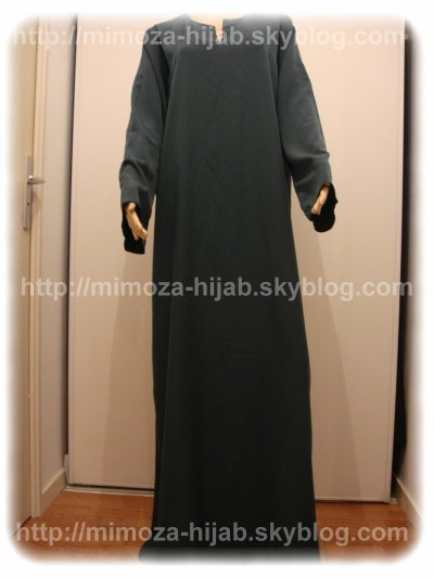 ABAYA SIMPLE EL BASSIRA