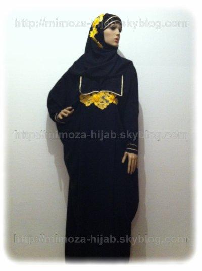 Abaya CHATIBA 57¤ (avec son châle)