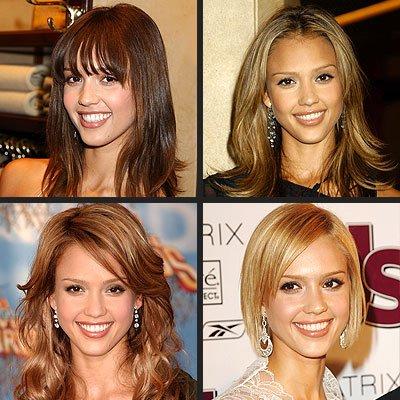 une couleur et une coupe de cheveux peut tou changer ainsi ke le makillage!!!!