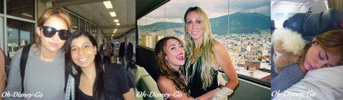 New Photo Perso de Miley + Une New Photo De Miley Posant Avec Des Fan