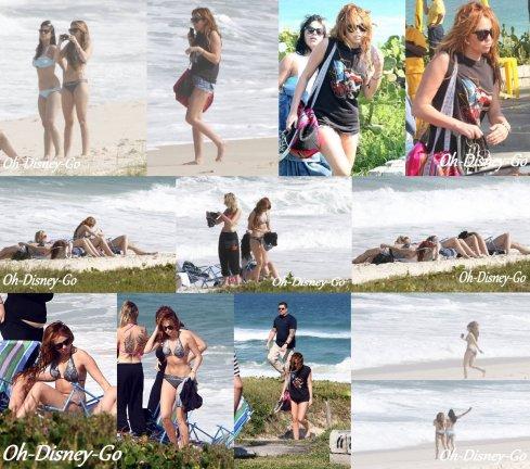 Le 12 mai 2011 Miley était Sur Une Plage De Rio De Janeiro Au Brésil