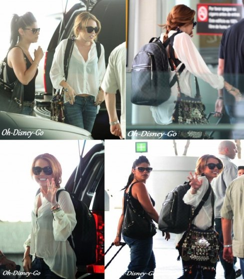 Miley Quittant l'aéroport de Mexico Au Mexique le 27 mai 2011 + New Photo De Miley Posant Avec Des Fan +New Photoshoot Par Vijat Mohindra