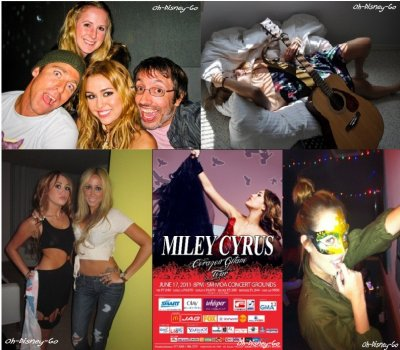 New Photo Perso De Miley +Photo Des Europe Music Awards Les Backstages à Madrid le 7 novembre 2010+ Affiches promotionnelles De La tournée « Gypsy Heart Tour »