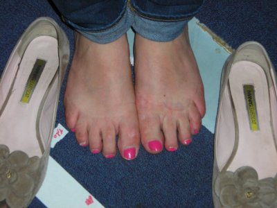 les pied de lucile
