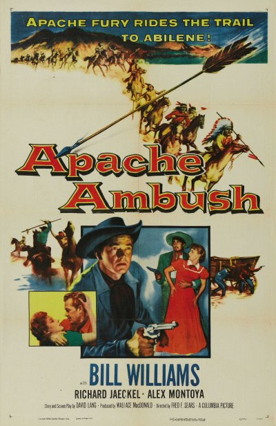 Apache Ambush 1955 - Fred F. Sears