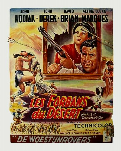 Ambush at Tomahawk Gap 1953 -  Les Forbans du Desert - Fred F. Sears