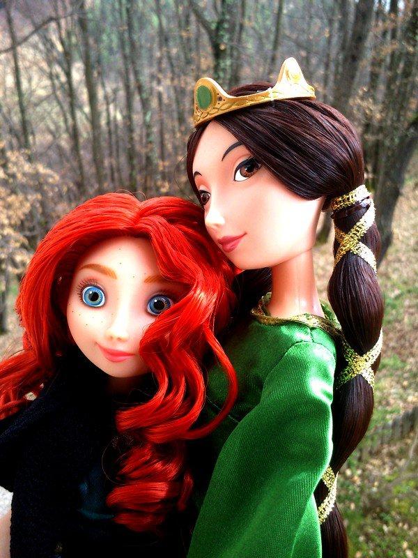 Mérida et Elinor