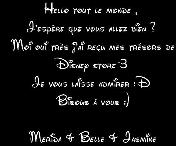 Disney Store <3