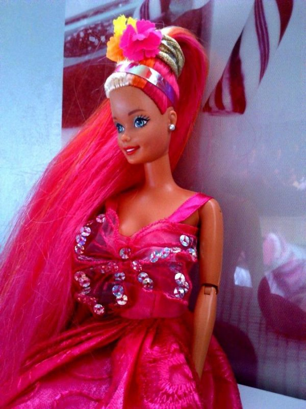 Barbie houla hair / mère Gothel