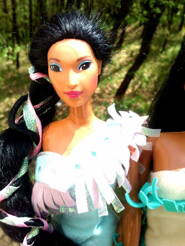 Pocahontas et Nakoma