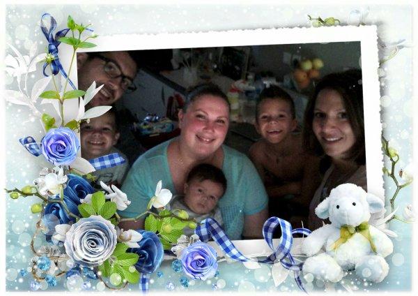 ma petite famille...petits et grands....