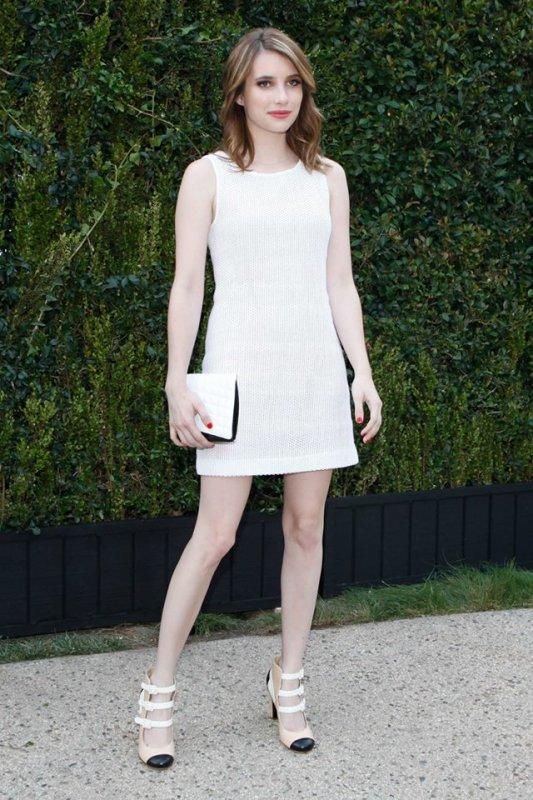 Emma Roberts dans une robe de chanel  collection printemps été 2013