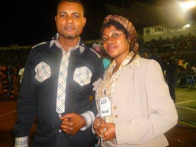 Fr Norbert et L'empératrice Celia Mpoyi